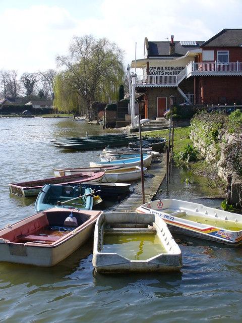 Wilson's Boatyard, Sunbury