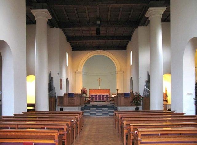 St Martin, Knebworth, Herts - East end