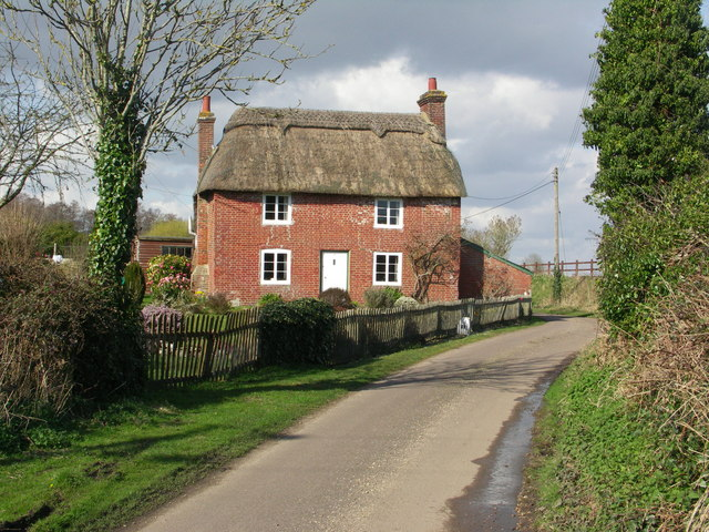 Thatched Cottage at Sopley