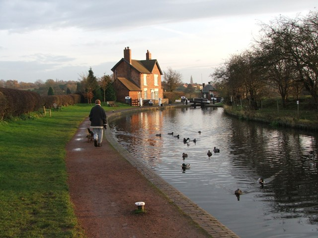 Bratch Lock Keepers house Wombourne