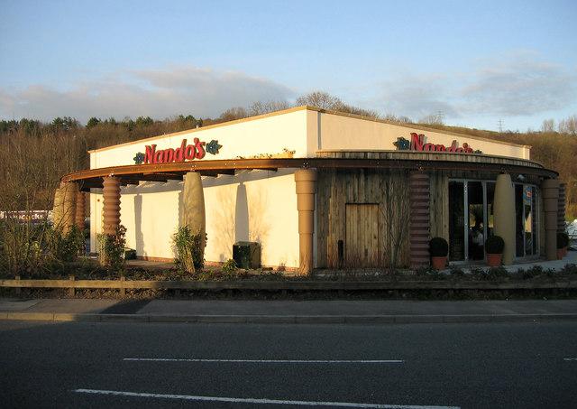 Nando's Chicken Restaurant, Treforest.