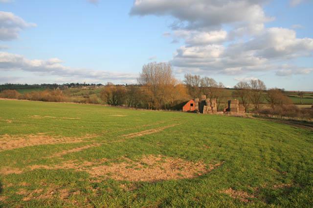 Farmland between Tixover and Ketton