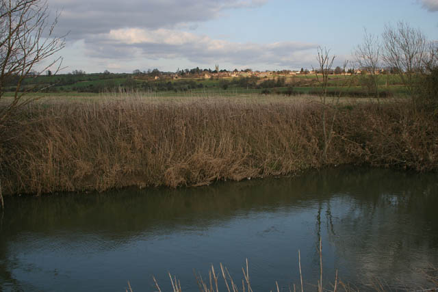 River Welland between Tixover Grange and Kilthorpe Grange