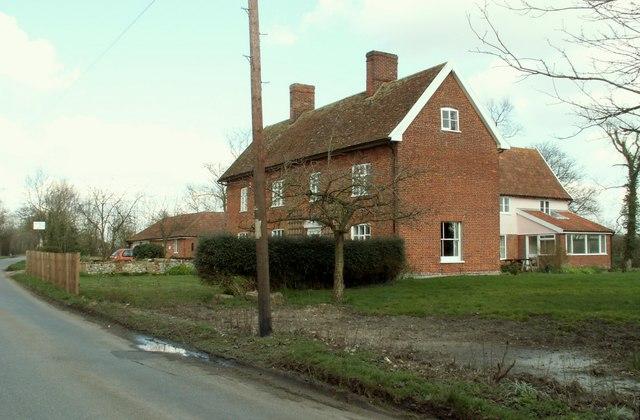 Farmhouse at Rookery Farm
