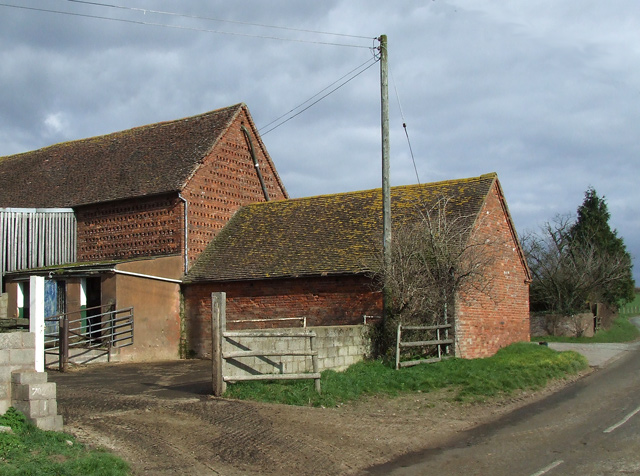 Buildings, Camp Farm, near Highgate Common, Staffordshire