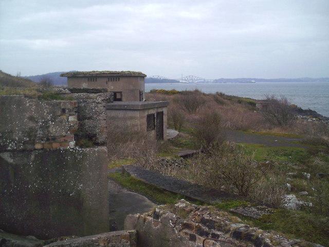 Coastal Gun Site, Cramond Island