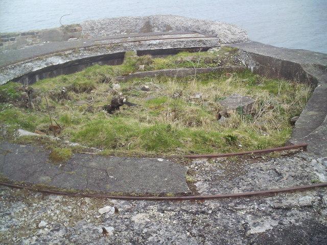 Gun Emplacement, Cramond Island.