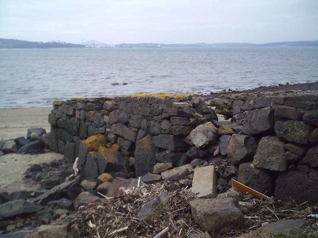 Old Pier, Cramond Island.