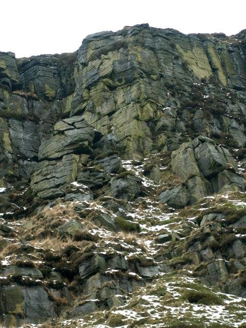 Long Climb at Laddow Rocks
