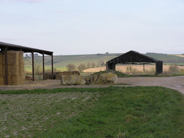 Barns and Sarsen Stones