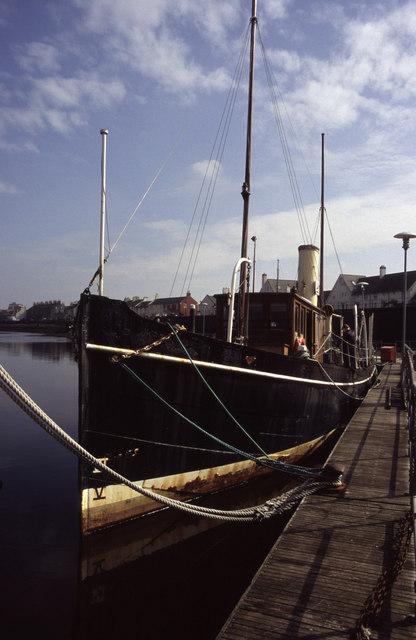 Steam Yacht carola, Irvine