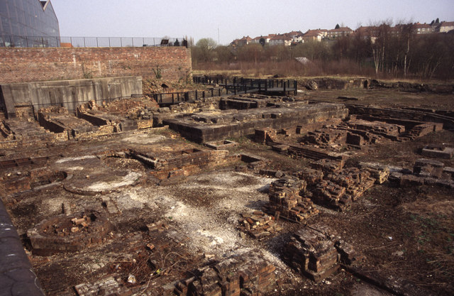 Site of blast furnaces, Summerlee