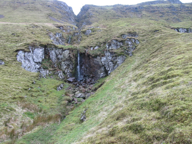 Waterfall below Standmilane Craig