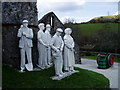 SX0055 : China Clay Sculpture Wheal Martyn  Museum,St Austell by R Greenhalgh