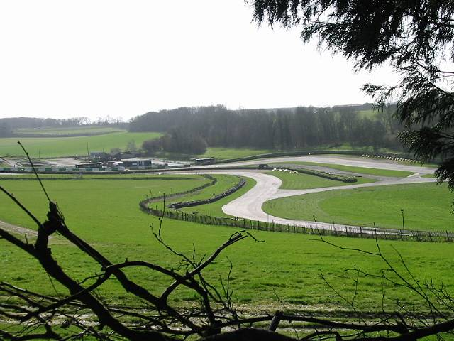 View of Chessons Drift on Lydden circuit race track