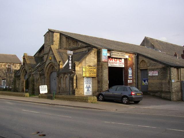 Car repair workshop, Westgate, Cleckheaton