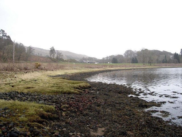 Foreshore of Loch Etive looking east to Ardachy