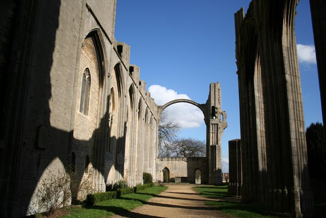 Crowland Abbey - nave