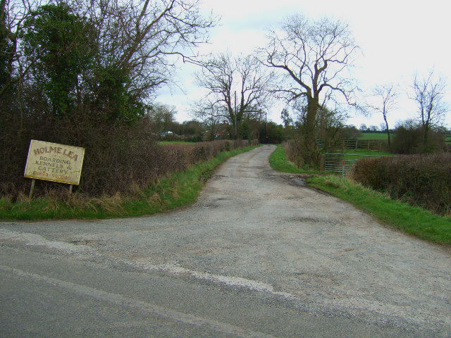 Holme Lea Entrance
