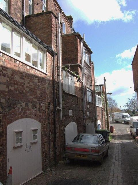 Back street near West Gate