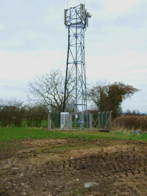 Telecommunications Mast at Roston