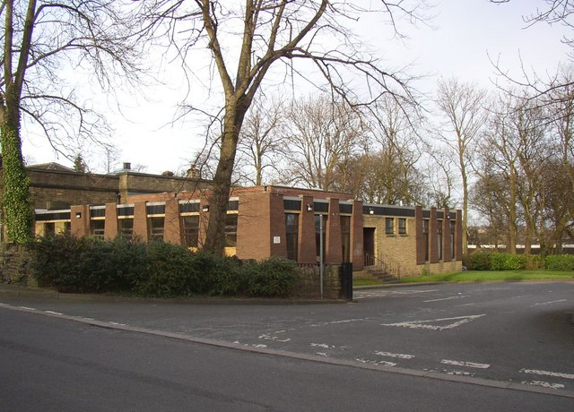 Rear of Cleckheaton Library