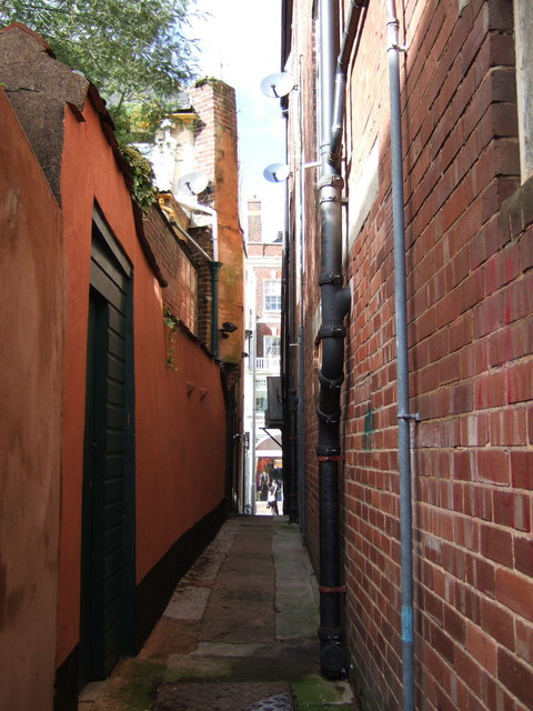 Alley off Stepcote Hill, Exeter
