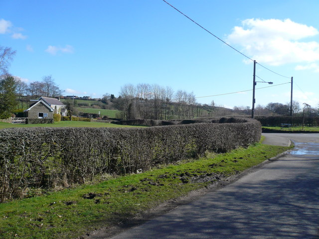 Pearce Lane Junction with Hill Houses Lane
