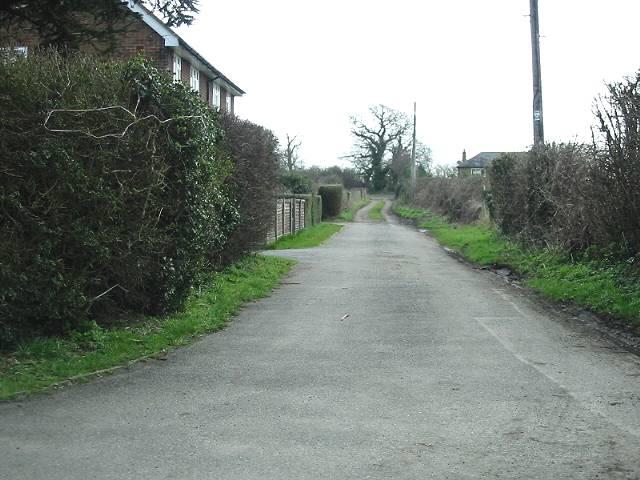Road to Snodehill Farm