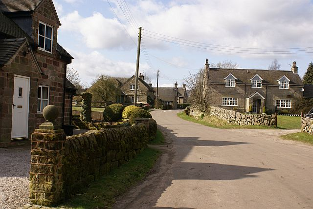 Stone houses in Wootton village