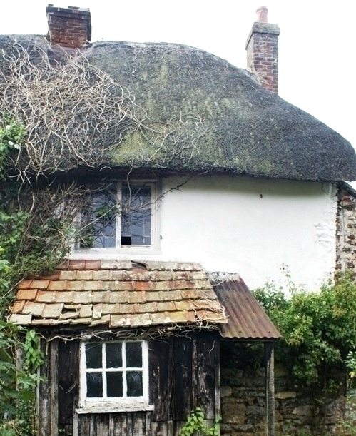 Uninhabited cottage at Cockles