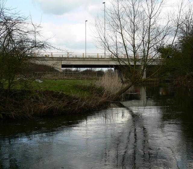 Soar Valley Road Bridge.