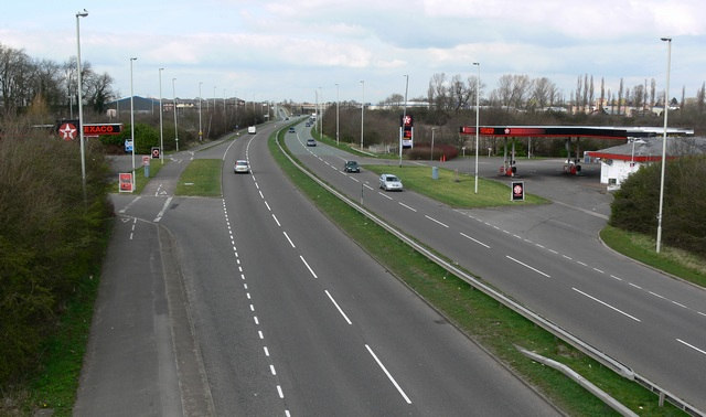 A563 Outer Ring Road in Braunstone.