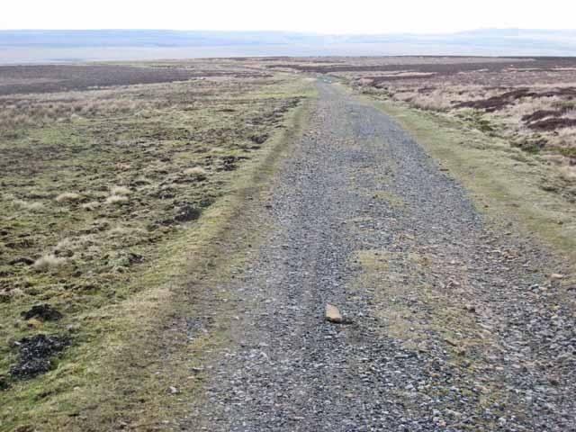 Sleightholme Moor road