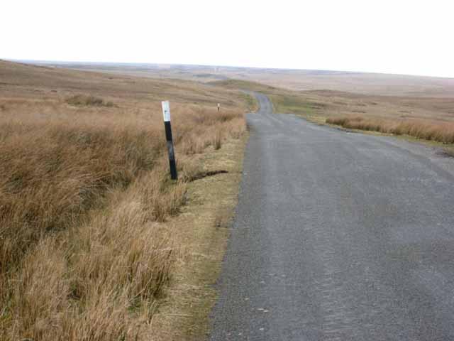 The road up Arkengarthdale