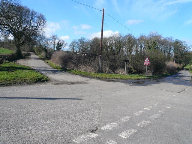 Hill Houses Lane Junction
