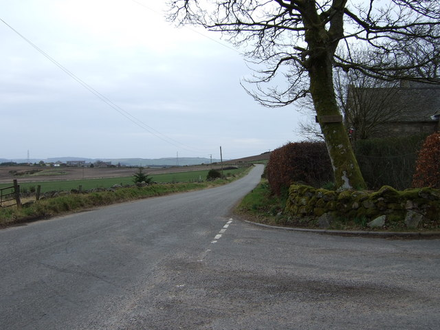 Road from Denside to Corsehill