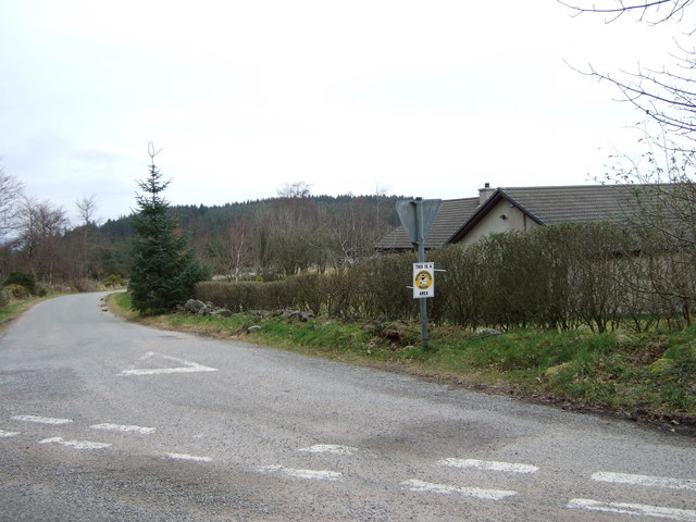 Road to Currackstane