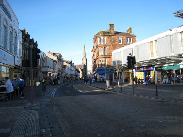 Dumbarton High Street W