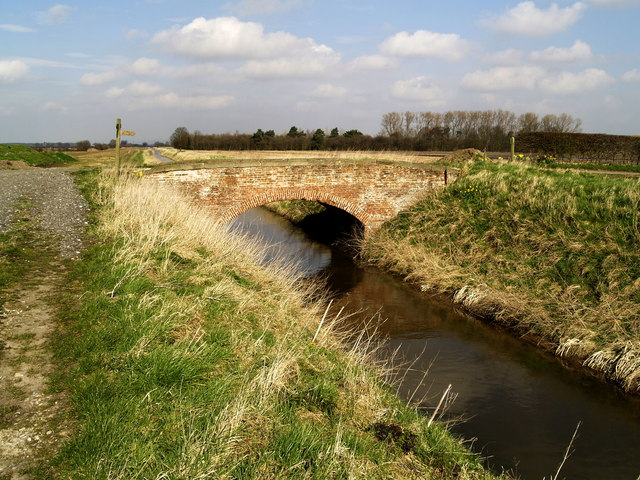 Bridge over Egremont Drain