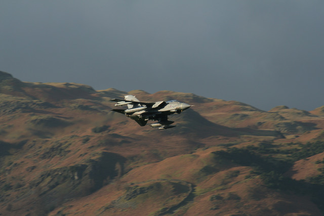 Low-flying Tornado near Grasmere