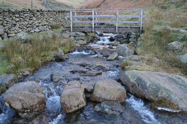 Stepping Stones and Footbridge, Little Tongue Gill