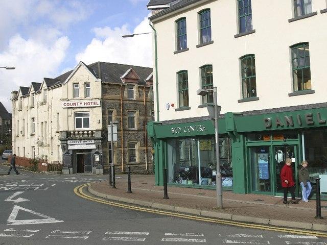 Market Square, Ebbw Vale