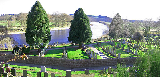 St Peters Church grave yard.