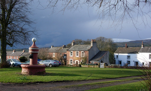 Dufton Fountain & Village Green