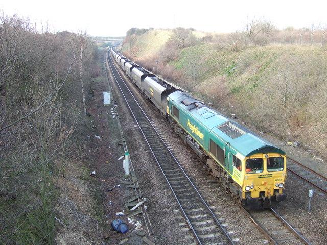 Train at Goosehill Junction