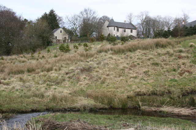 Auchinleck Burn below Lochnoran House