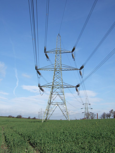 Pylons in the Fields