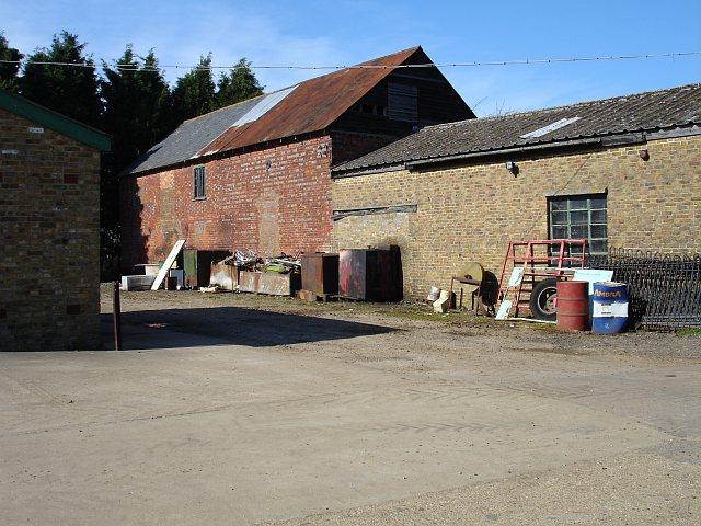 Farm buildings at Oad Street
