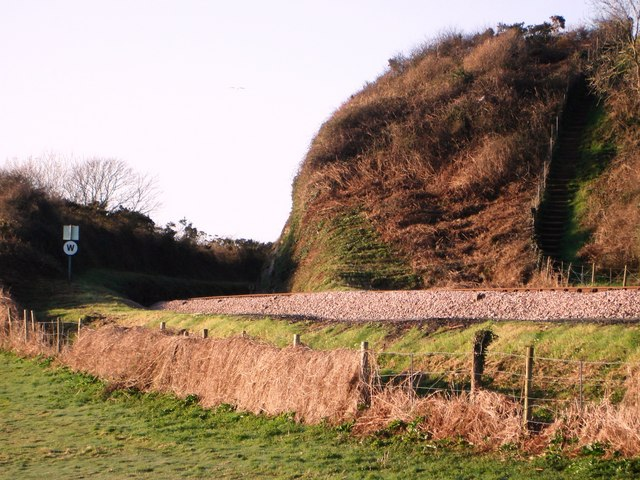 Railway Cutting between Sugar Loaf and Broadands